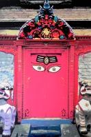 Kathmandu Red Door
